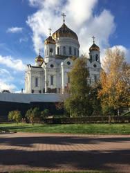 Cathedral of Christ the Saviour by evgeniya-bengalskaya
