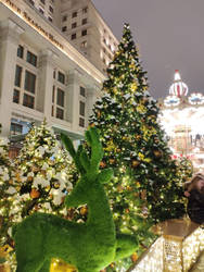 Meet the Christmas deer by evgeniya-bengalskaya