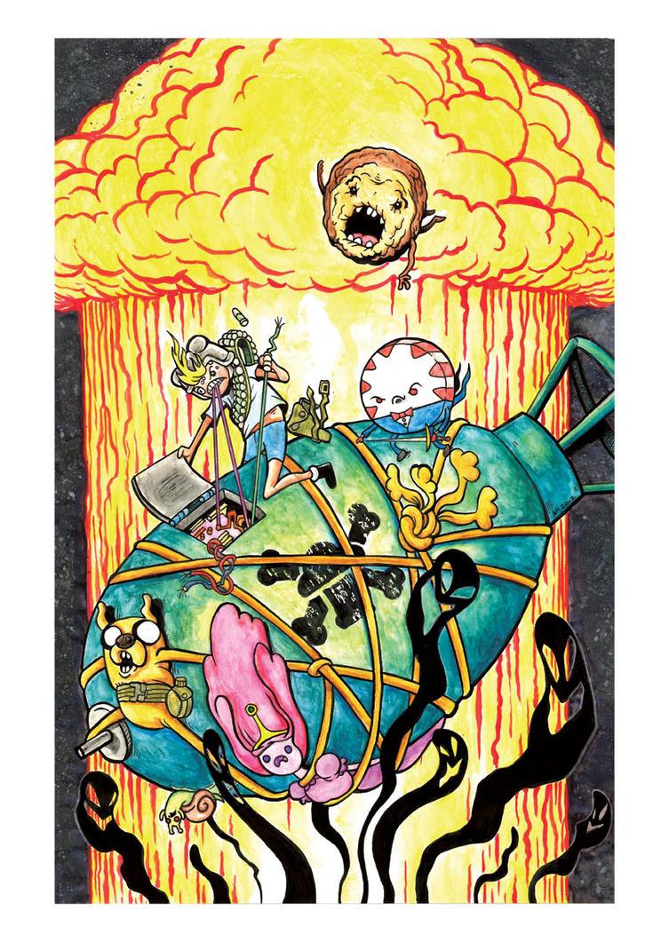 Adventure Time: The Great Mushroom War by TommyV2 on DeviantArt