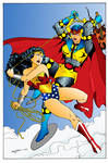 Wonder Woman vs. Big Barda