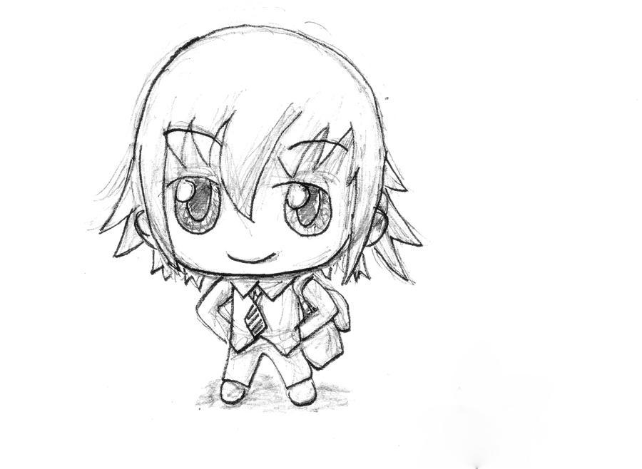 How To Draw Chibi Boys How To Draw A Chibi Boy