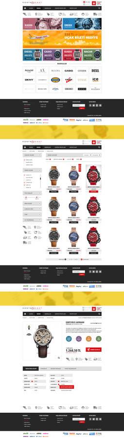 Konyali Saat Web Design