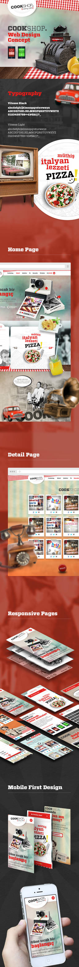 CookShop Web Design Presentation
