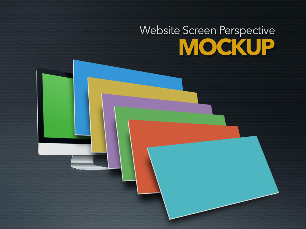 Perspective Screen Mockup by eskikitapci