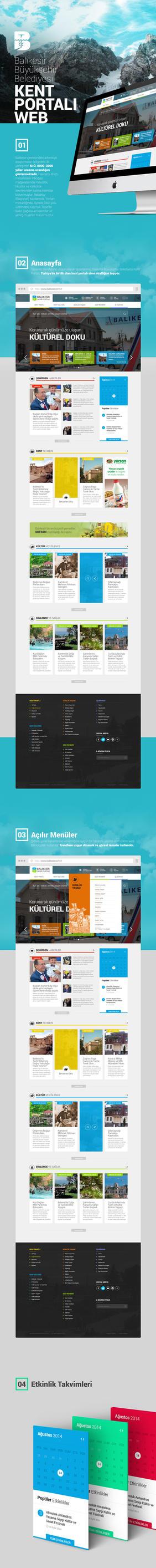 Balikesir Kent Portali Website by eskikitapci