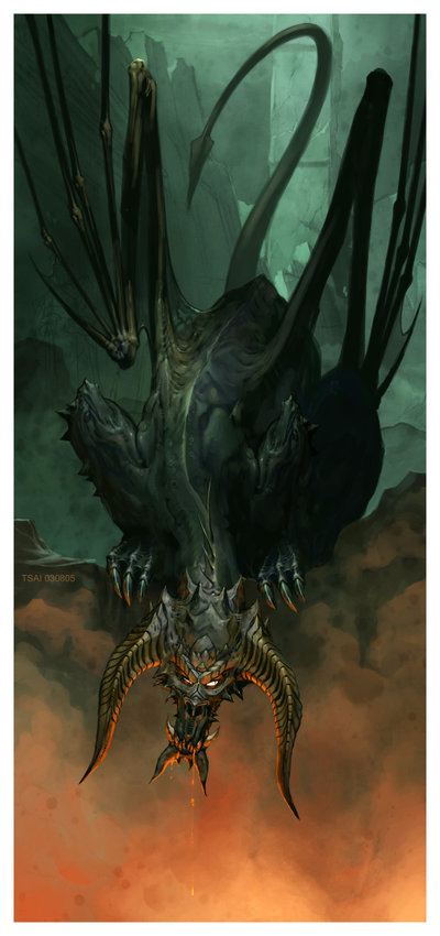 Devil Dragon by KevinWorld