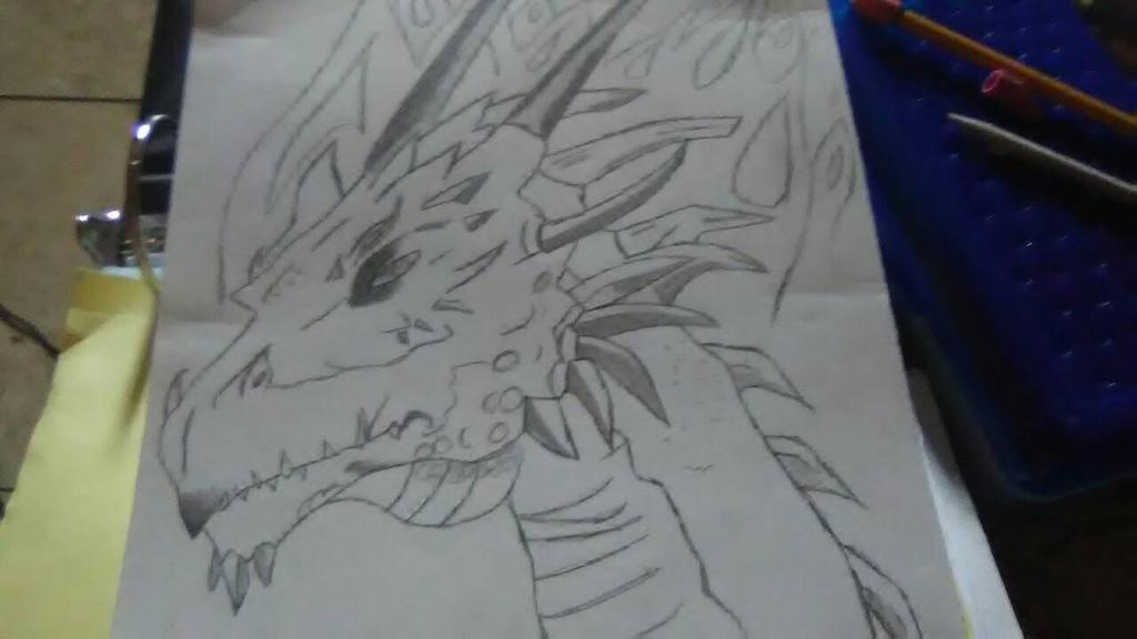 Dragon by familyslender