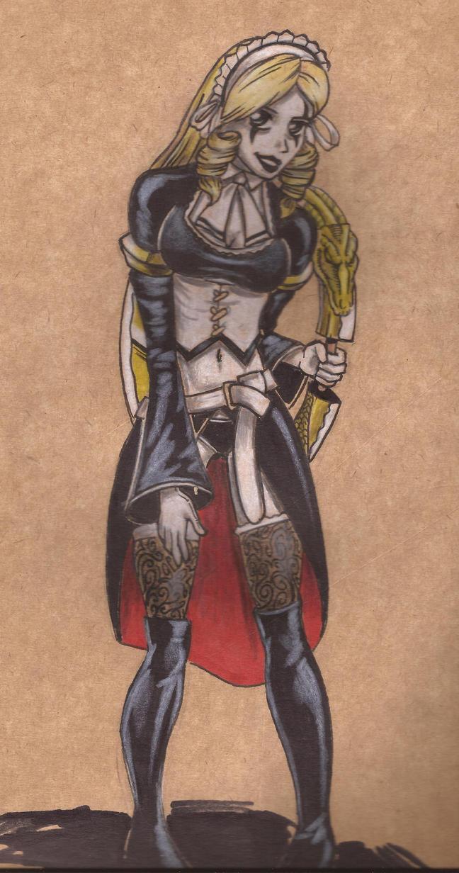 Soul Calibur V Creation by chacrawarrior