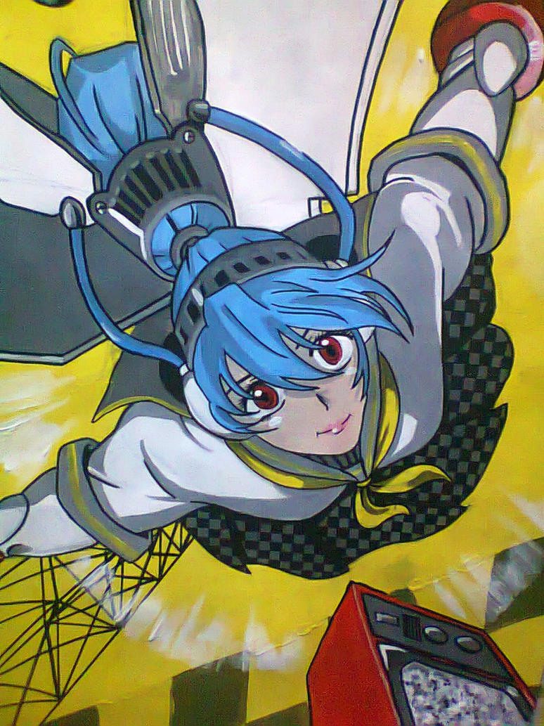 persona 4 arena labrys by chacrawarrior