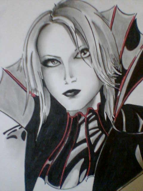 vampire girl by chacrawarrior