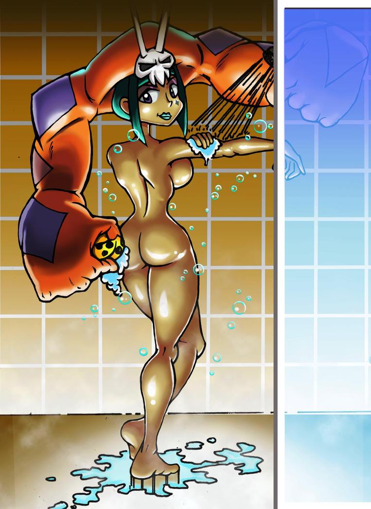 Cerebella taking a bath by chacrawarrior