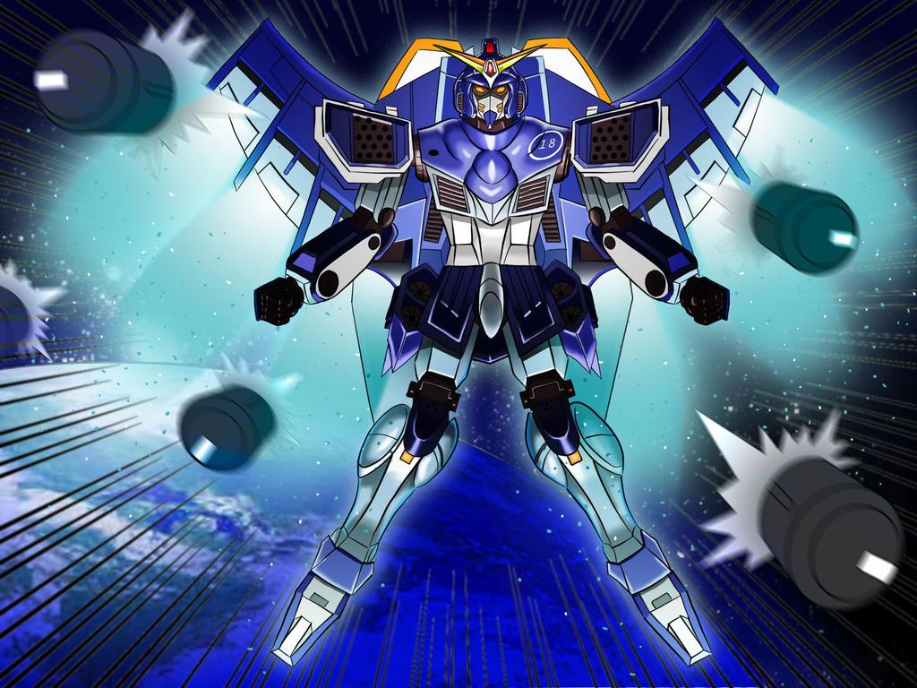 Gundam V3- mark 01 by chacrawarrior