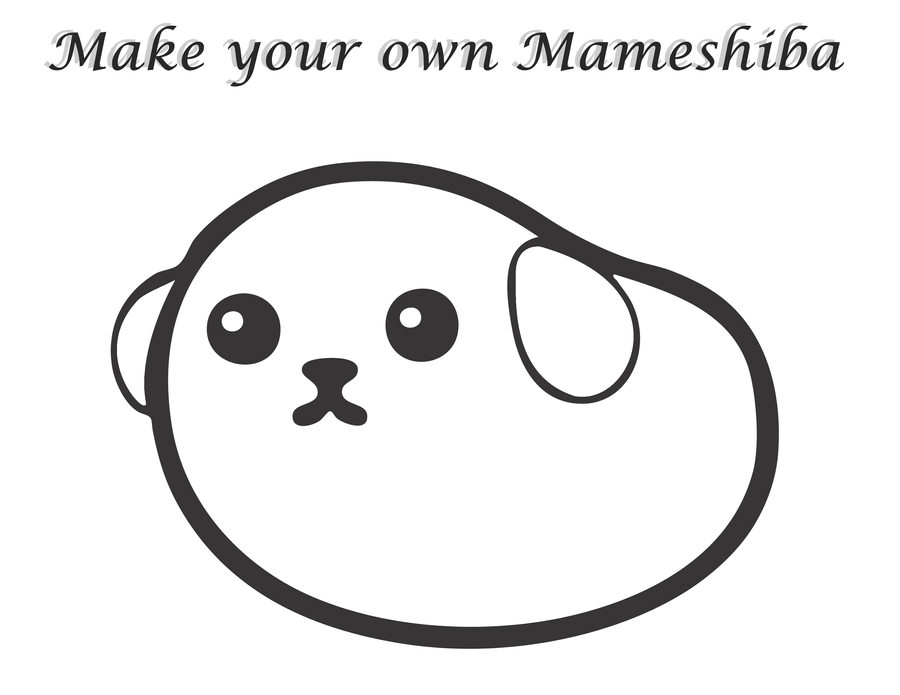 Make your own Mameshiba by uberchicken