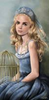 The Blue Bird by Colibri-Arts