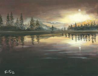 Sunset by Euniceeeee