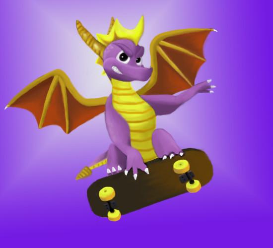 Spyro The Dragon by moltres93
