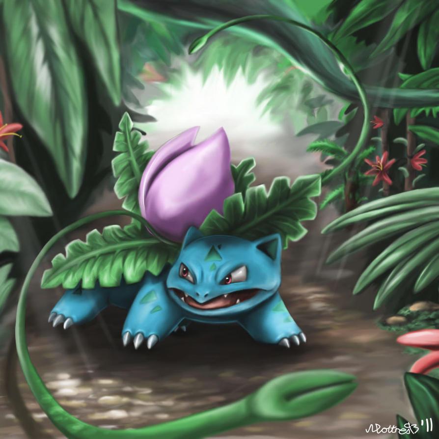 Ivysaur by moltres93