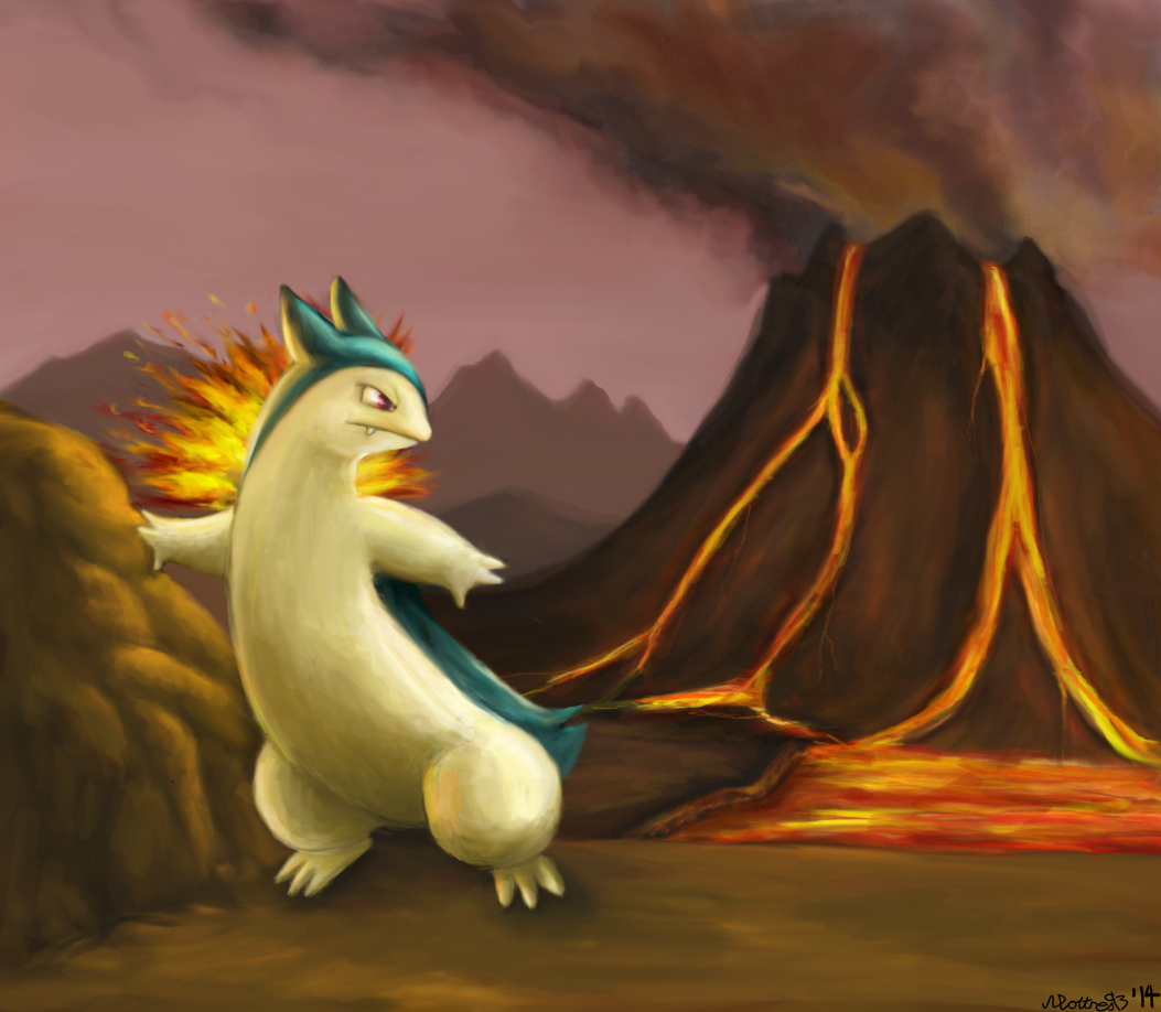 Typhlosion by moltres93