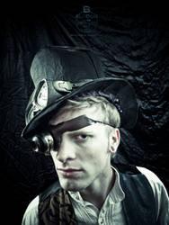 Josh XIX - Steampunk by OregonArtTeacher