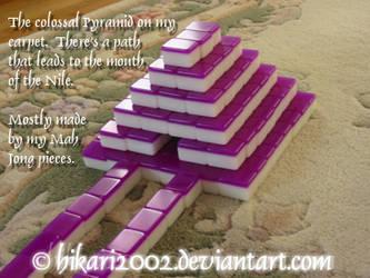 Mah Jong Pyramid Side View