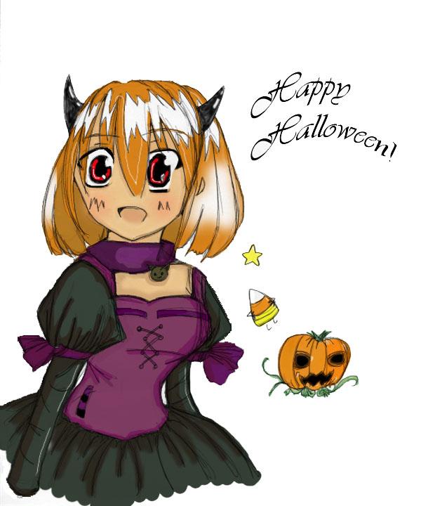 Happy Halloween Colored by TheOriginalSpark