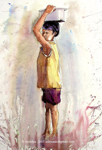 Young Labour -I by asbiswas