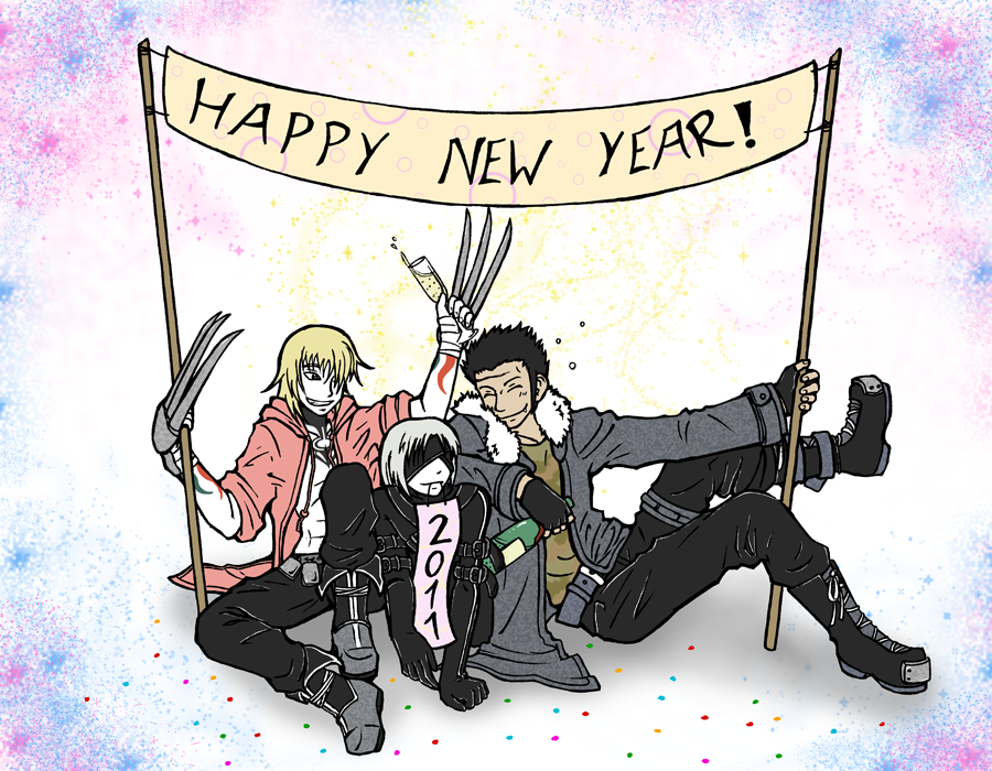 Happy New Year 2011 by Kurozora-Konoi