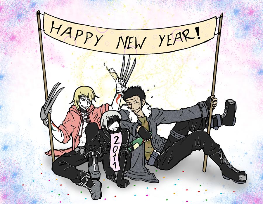 Happy New Year 2011 by Kurozora-Konoi