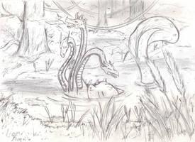 Hydra's swamp by Kurozora-Konoi