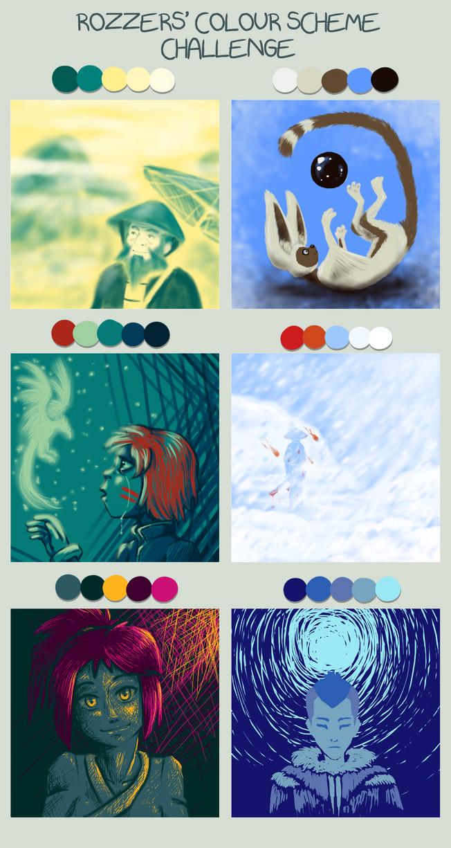 TLA 30D - Day 13 - Color scheme meme by Kurozora-Konoi