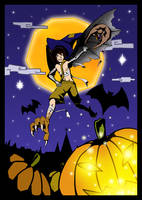 Tenkou Halloween by Kurozora-Konoi