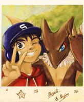 Shigeki and Nejiro by Kurozora-Konoi