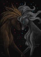 Spirits of Fire and Ice by Kurozora-Konoi