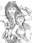 Wonder girl power by Csyeung