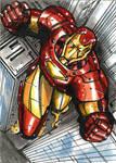 Ironman sketchcard