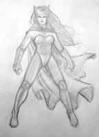 Scarlet Witch Sketch NYCC 2011 by Csyeung
