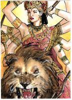 Durga by Csyeung