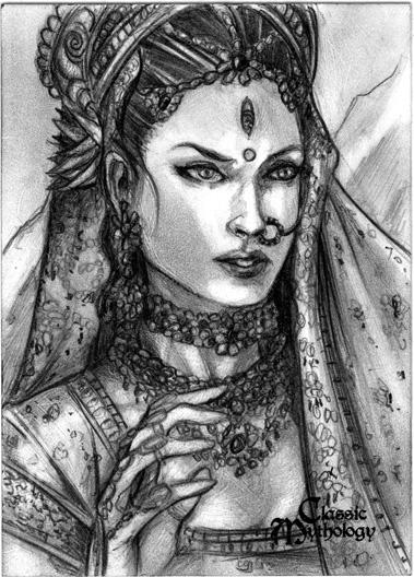 Parvati by Csyeung