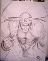 Loki sketch by Csyeung