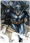 Batman sketchcard