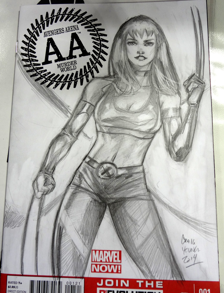 X23 MJ  mashup sketchcover by Csyeung