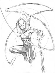 Spider-Gwen by Csyeung