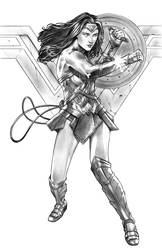 Wonder woman by Csyeung