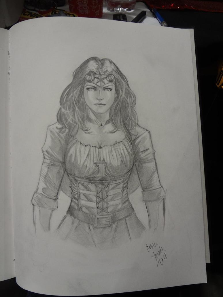 Steampunk Wonder Woman by Csyeung