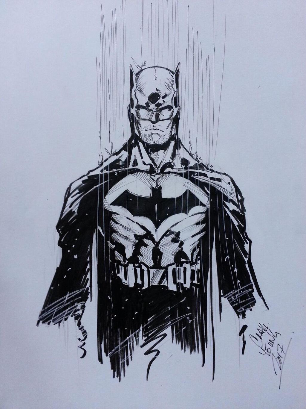 Batman sketch by Csyeung