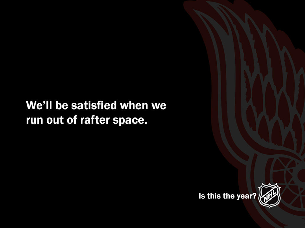Red Wings Year? by Bruins4Life