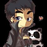 Panda Riri by Hep-Hap