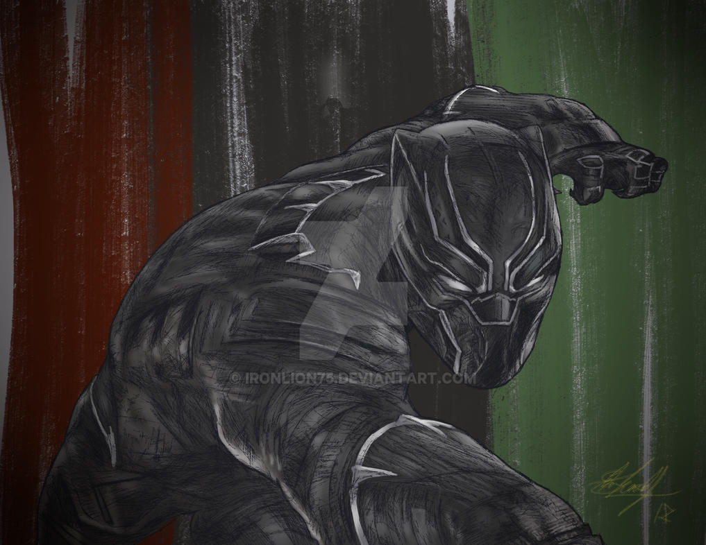 WAKANDA FOREVER (BLACK HISTORY MONTH EDITION 2018) by IronLion75