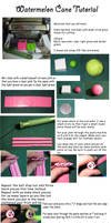 Watermelon Cane Tutorial