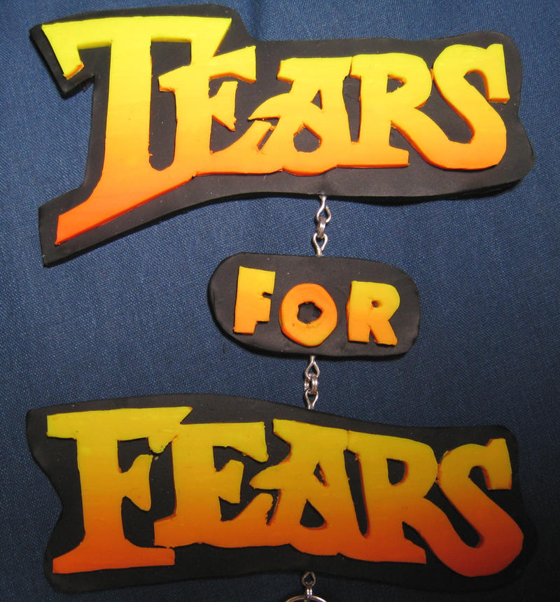 Tears for Fears Logo Close Up